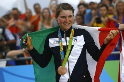 Elisa Longo Borghini bronzo a Rio 2016
