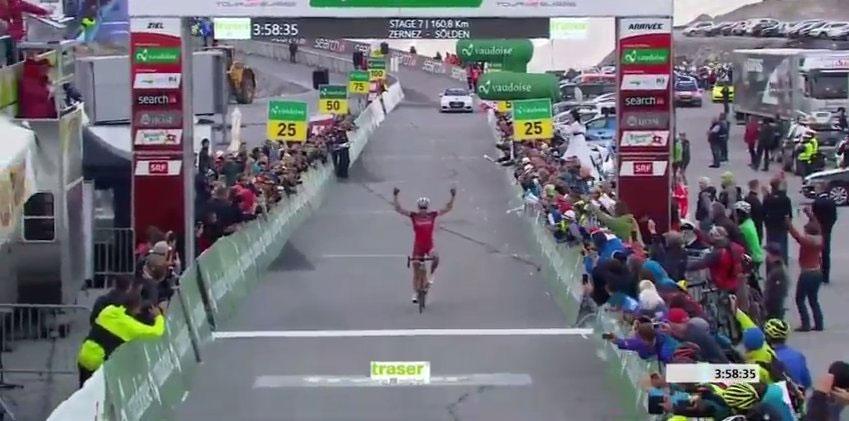 Simon Spilak vince al Tour de Suisse