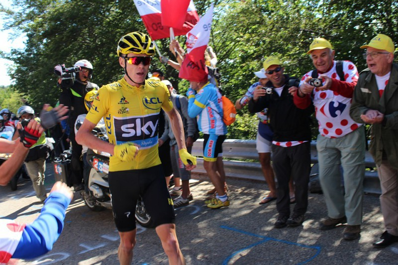 Chris Froome al Tour de France