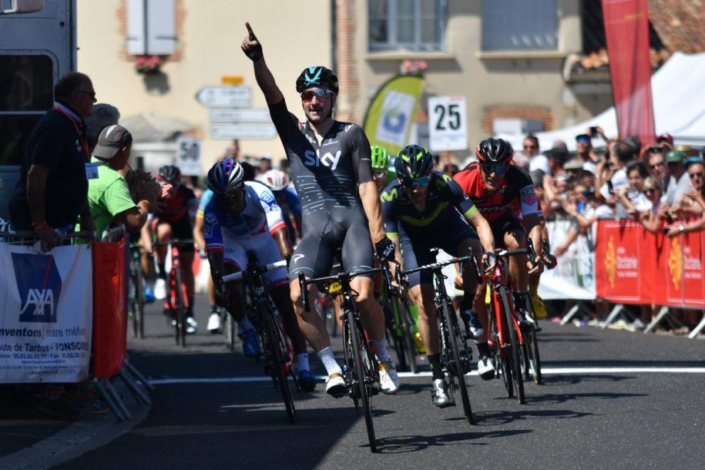 Elia Viviani vince alla Route du Sud