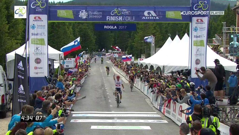 Rafal Majka conquista tappa e maglia al Giro di Slovenia