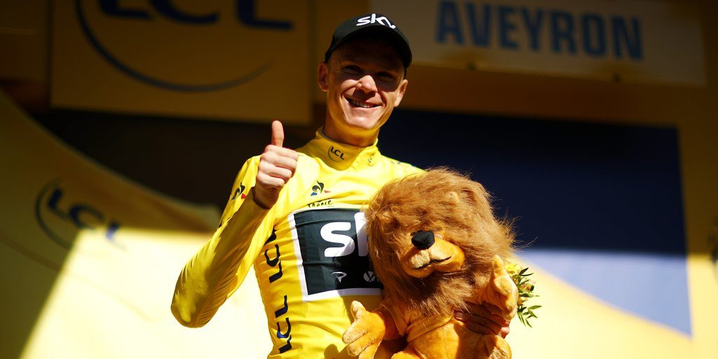 Chris Froome vince il Tour
