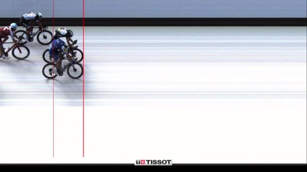 Kittel al Fotofinish