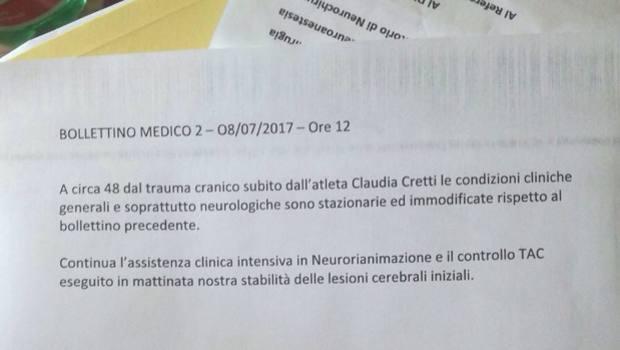 Claudia Cretti Nuovo Bollettino