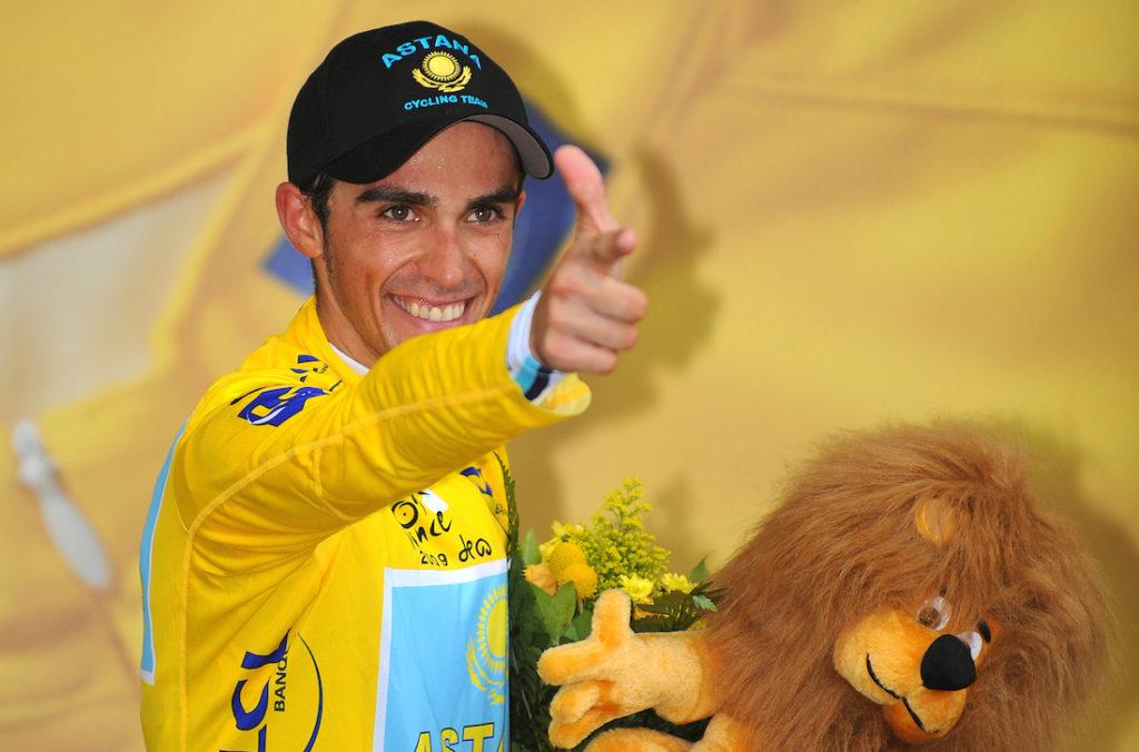 Alberto Contador annuncia il ritiro
