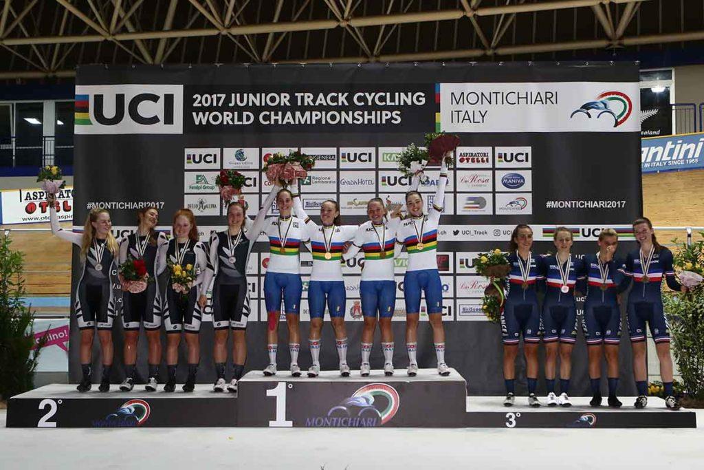 Mondiali pista juniores oro