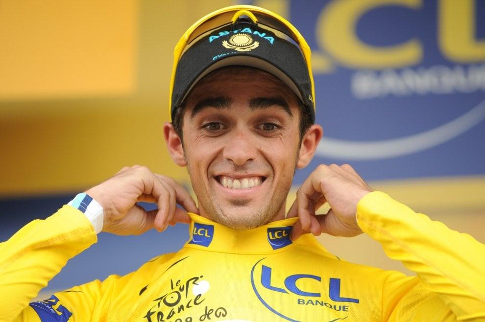 Alberto Contador alla Vuelta