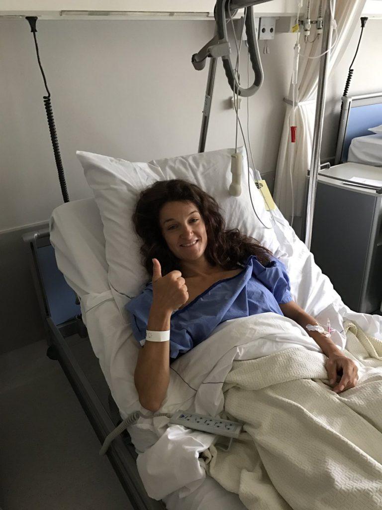 Lizzie Deignan operata