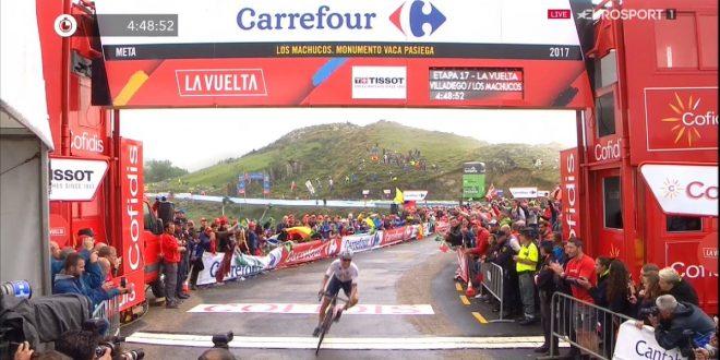 Clamoroso alla Vuelta
