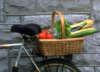 Come fare la spesa in bicicletta