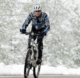 Abbigliamento invernale per ciclismo
