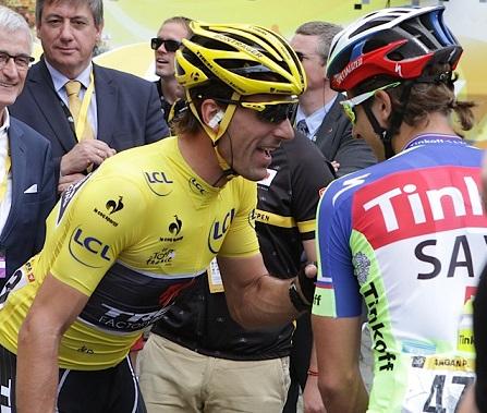 Cancellara contro Peter Sagan