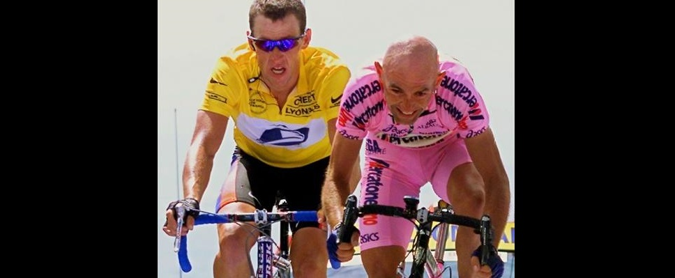 Lance Armstrong contro Marco Pantani