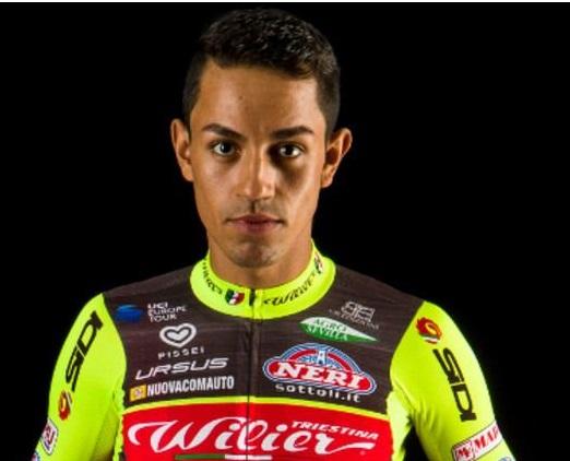 Ciclisti presi a pugni: Daniel Felipe Martinez