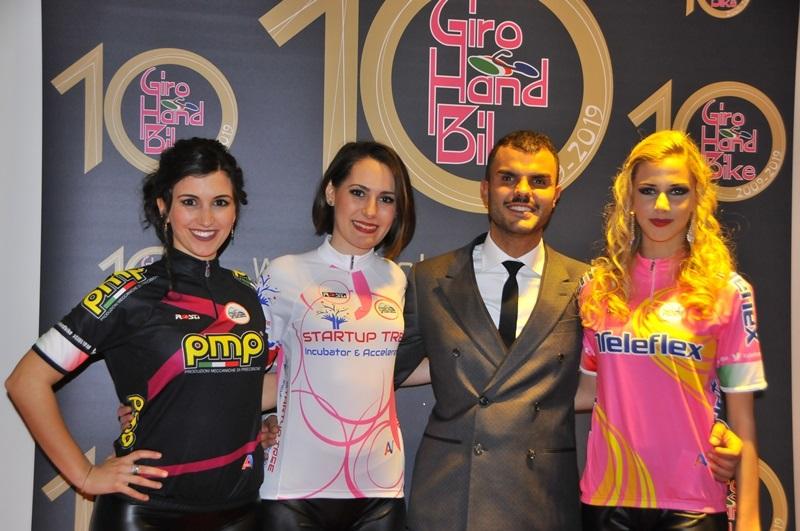 Handbike: le maglie del Giro d'italia