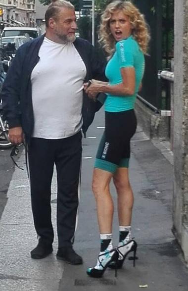 Justin Mattera sexy ciclista