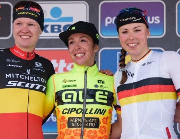 Marta Bastianelli vince alla Gent-Wevelgem