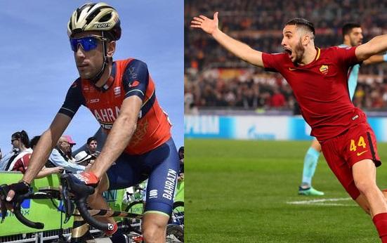 AS Roma: i complimenti di Vincenzo Nibali