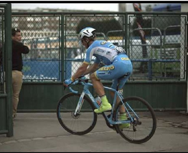 Evaldas Siskevicius al velodromo