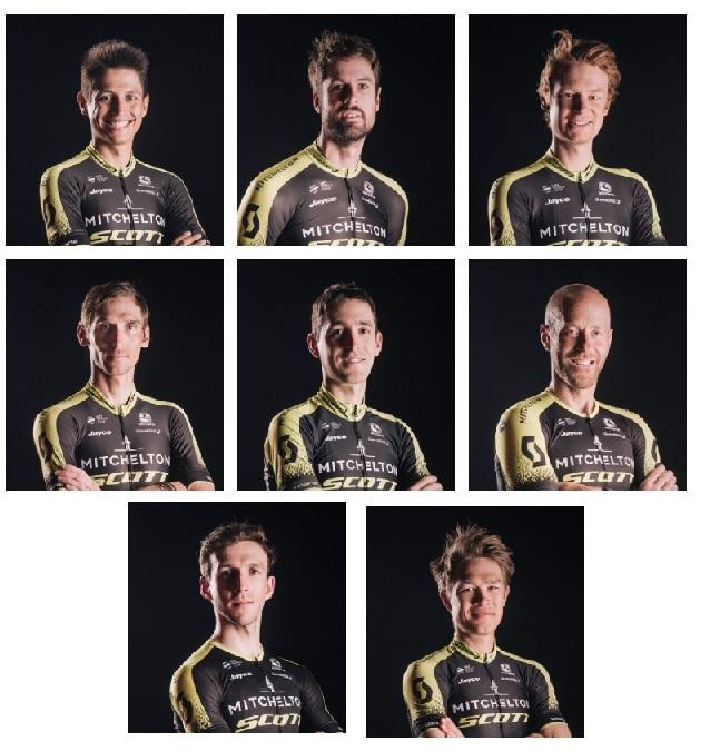 Mitchelton-Scott al Giro d'Italia