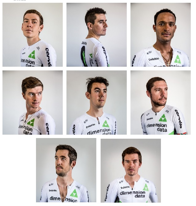 Team Dimension Data al Giro d'Italia