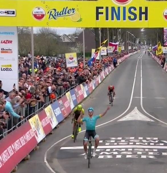 Amstel: vittoria di Valgren