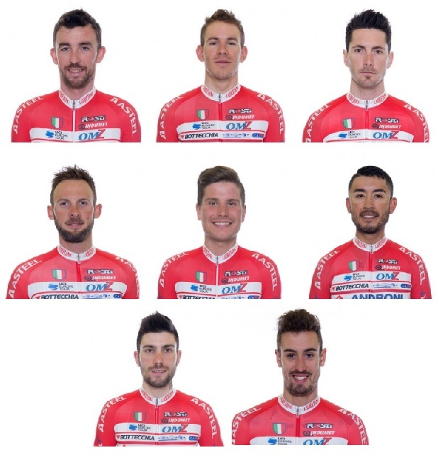 Androni-Sidermec al Giro d'Italia