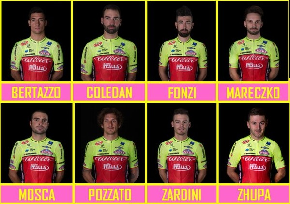 Wilier Triestina-Selle Italia al Giro,