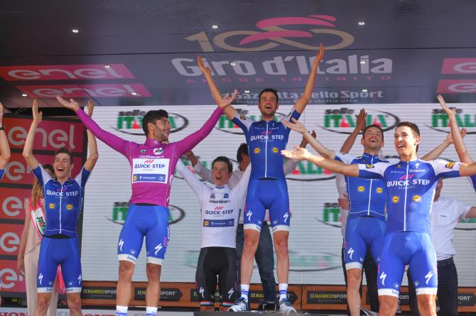 Quick-Step Floors al Giro