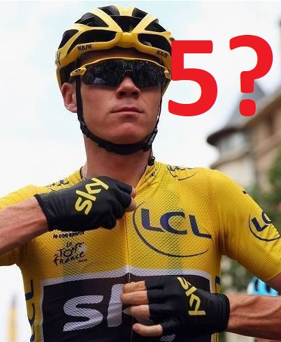 Chris Froome favorito