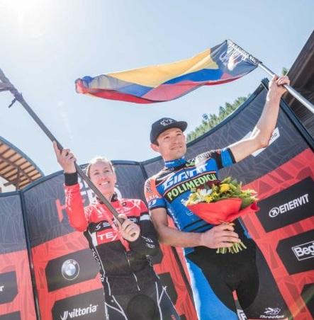 Leonardo Paez trionfa nella Hero Sudtirol Dolomites