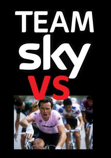 Team Sky attacca Hinault