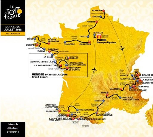 Tour de France 2018 diretta TV e diretta Streaming