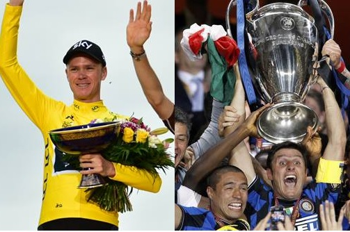Triplete: Froome come l'Inter?