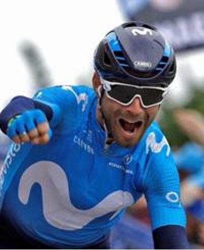 Alejandro Valverde spettacolare