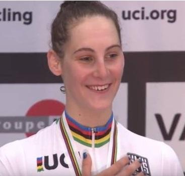 Vittoria Guazzini Campionessa del Mondo