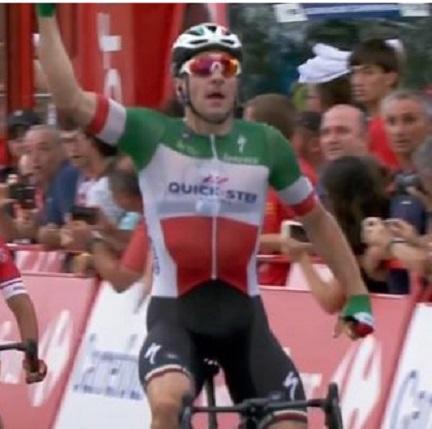 Viviani trionfa nella terza tappa della Vuelta