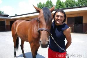 Ciclista contro cavallo: Chiappucci