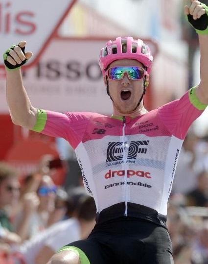 Simon Clarke vince la quinta tappa alla Vuelta Espana 2018