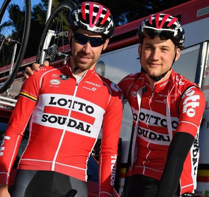 Il gusto di pedalare: De Gendt e Wellens