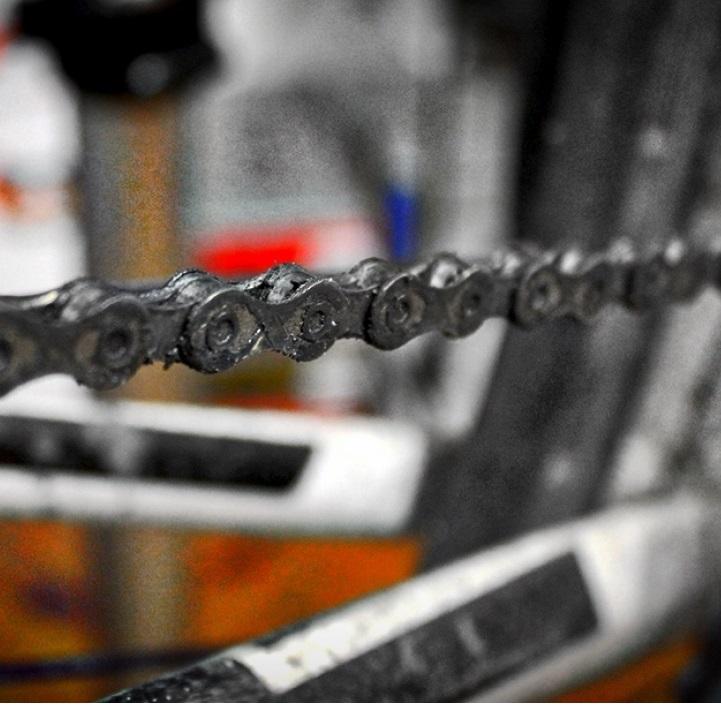 Come pulire la catena della bicicletta?