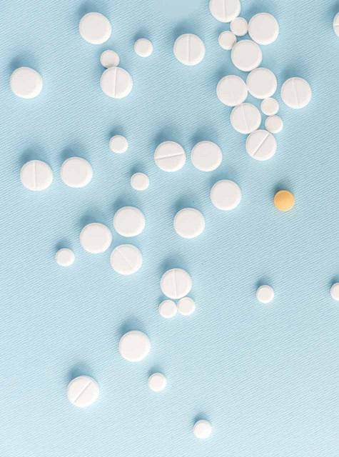 Ventolin e pastiglie