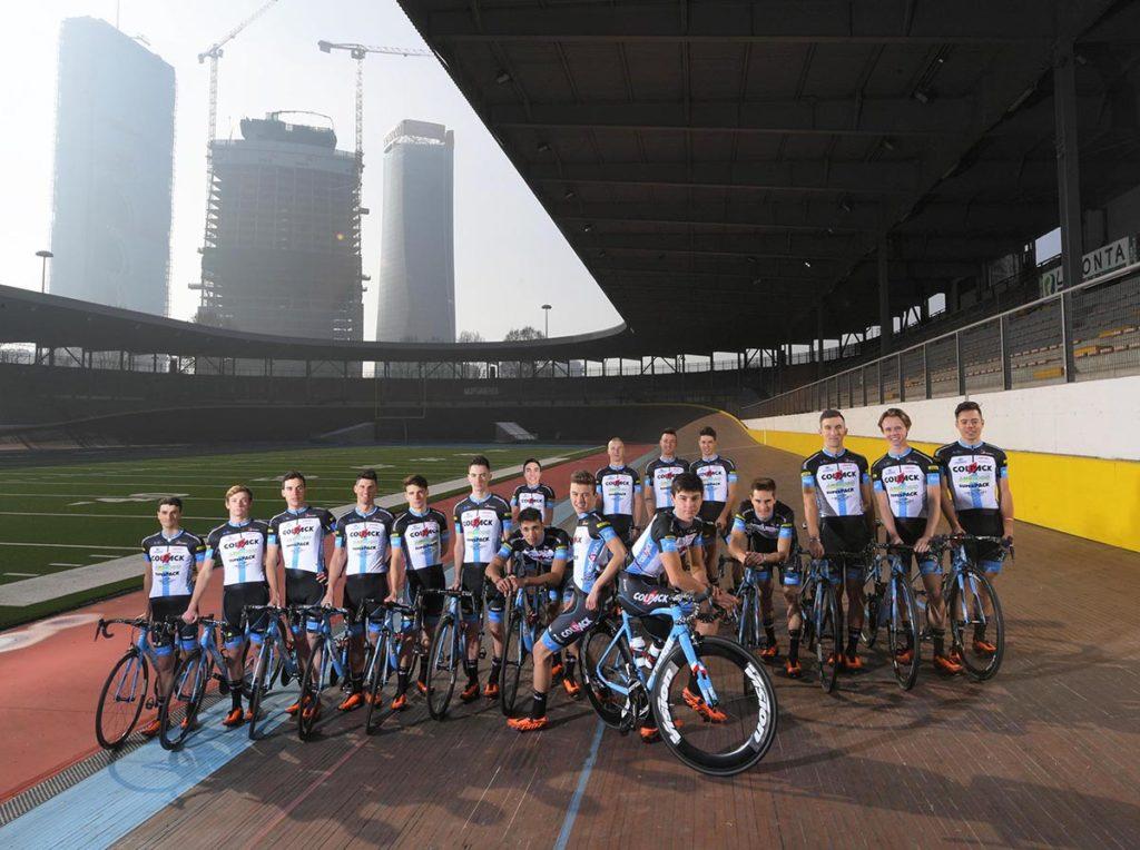 Team Colpack foto Rodella