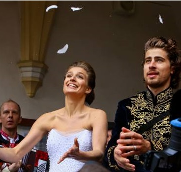 Katarina Smolkova e Peter Sagan