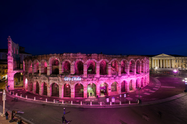 L'Arena di Verona, dove il Giro d'Italia terminerà il 2 giugno / Credit LaPresse