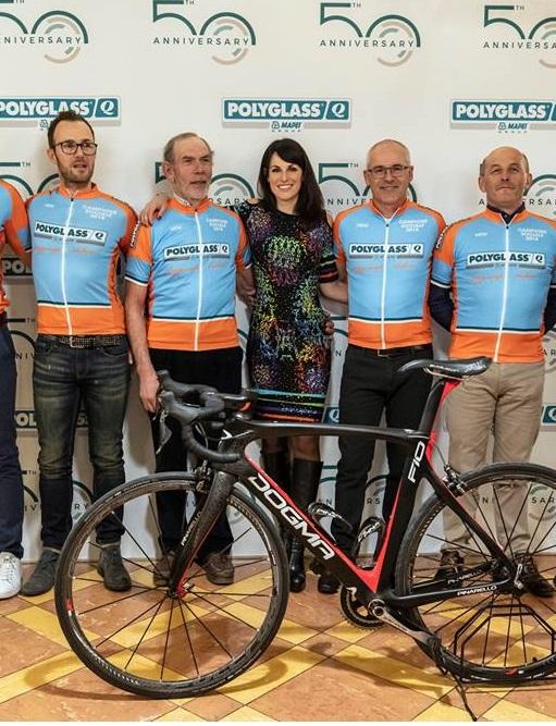 Stefania Andriola ospite della Fausto Coppi Polyglass (comunicato stampa)