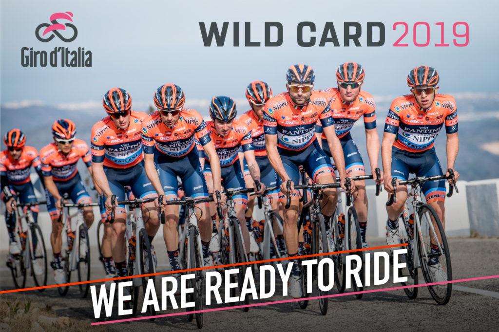 Nippo al via del Giro (fonte comunicato stampa)