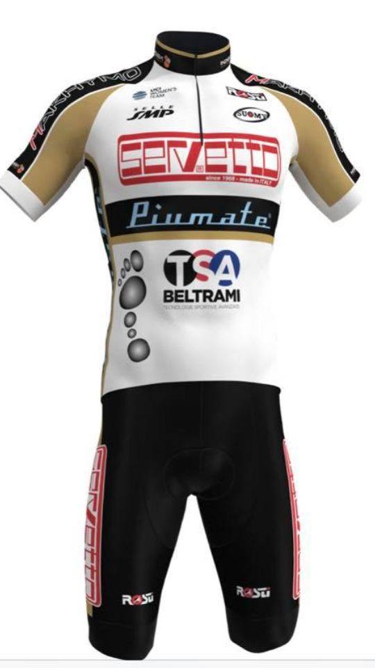 Rosti veste il Team Servetto (fonte comunicato stampa)