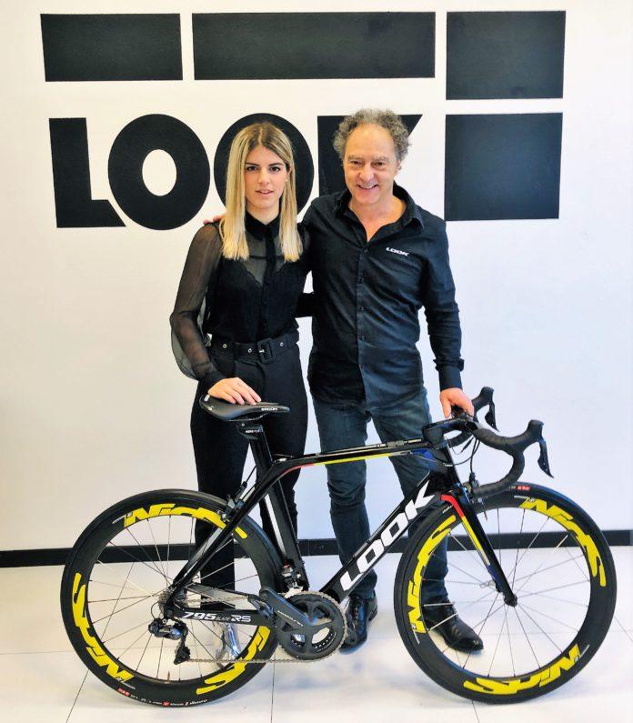 Paola Panzeri con Raoul Macchi di LOOK Italia – PH Credit LOOK Italia