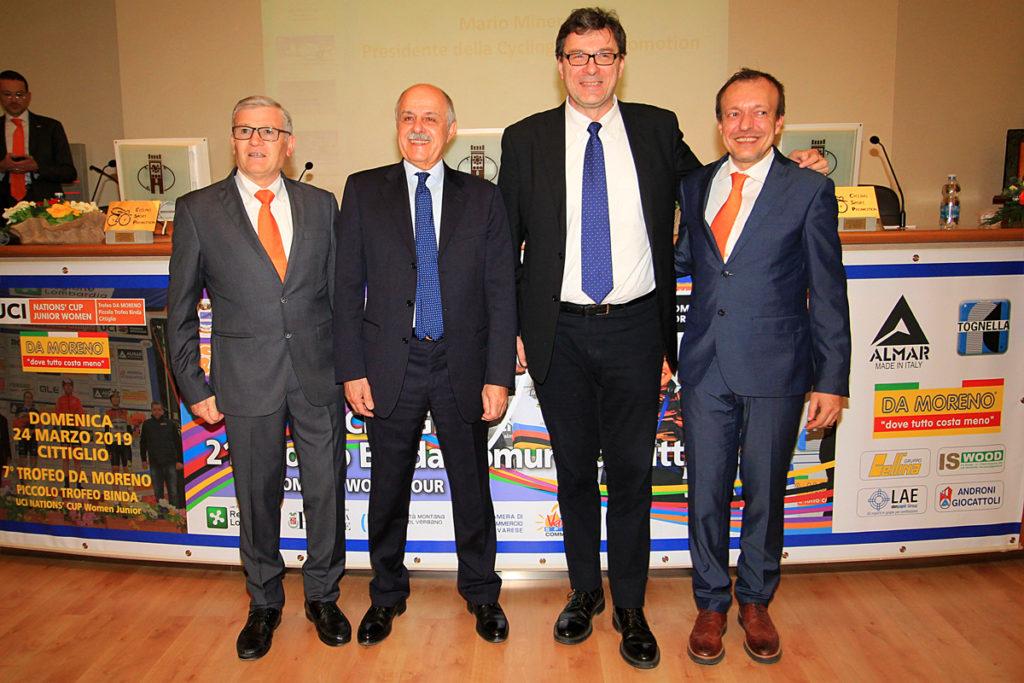 Minervino, Di Rocco, Giorgetti, Anzani - Foto F.OSSOLA